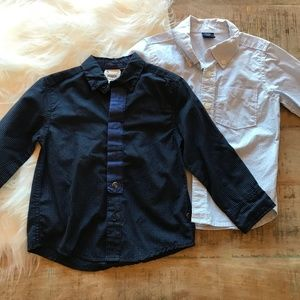 Fore!! Axel & Hudson & Gap Button Down Shirts 2T